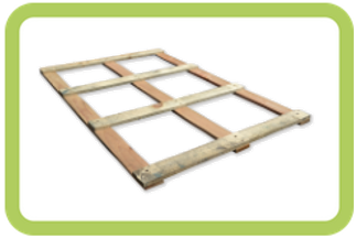 couvercle aer recyclage 80x120 - 4 planches