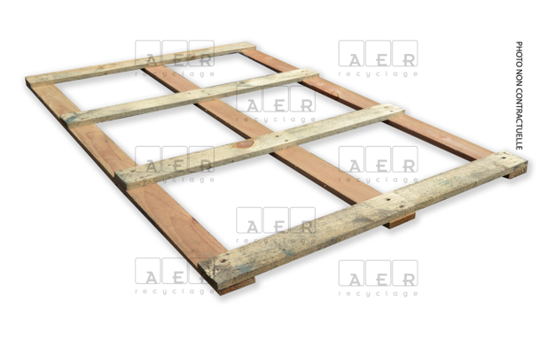 couvercle aer recyclage 80x120 4 planches + filigramme dessus