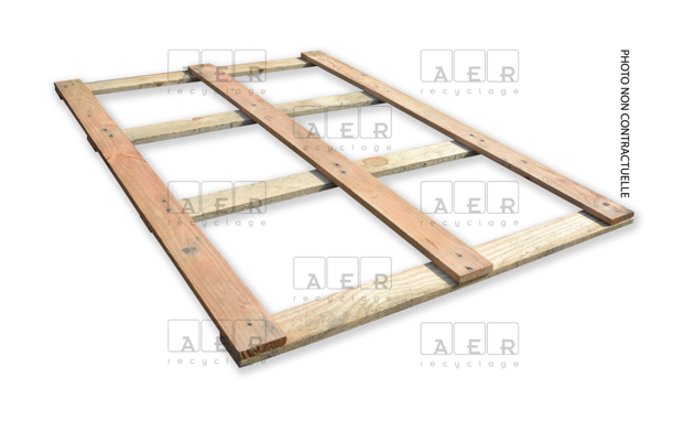 couvercle aer recyclage 80x120 4 planches + filigramme dessous