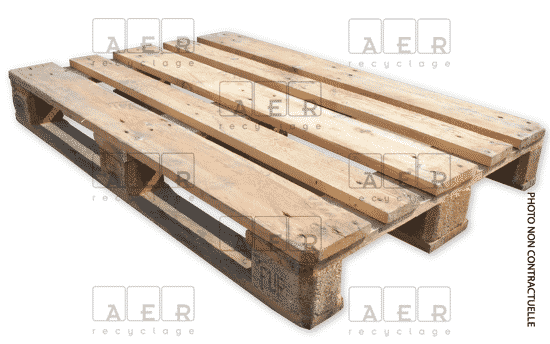 palette europe aer recyclage Epal Blanche + filigramme dessus